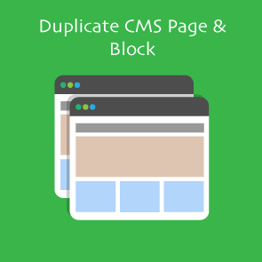 Magento 2 Duplicate CMS Page & Block Thumbnail