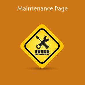 Magento 2 Maintenance Page Thumbnail