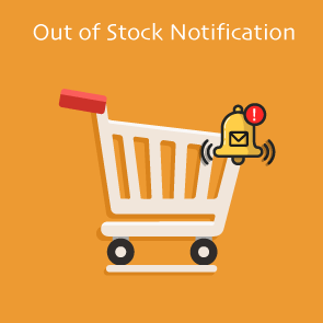Magento 2 Out of Stock Notification Thumbnail