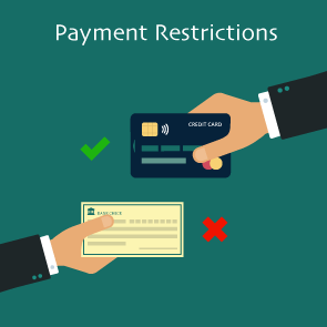 Magento 2 Payment Restrictions Extension by Meetanshi