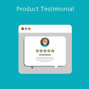 Magento 2 Product Testimonial Thumbnail