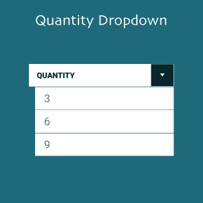 Magento 2 Quantity Dropdown Thumbnail