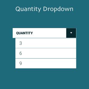 Magento 2 Quantity Dropdown Thumbnail
