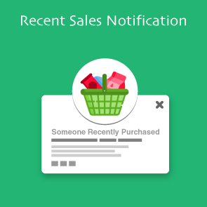 Magento 2 Recent Sales Notification Thumbnail