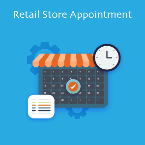 Magento 2 Retail Store Appointment Extension