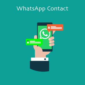 Magento 2 WhatsApp Contact Thumbnail