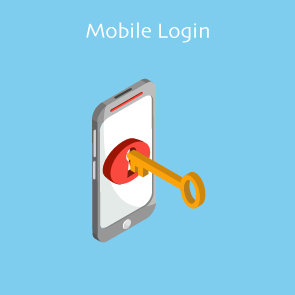 Magento Mobile Login Thumbnail