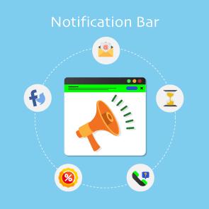 Magento Notification Bar Thumbnail