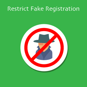 Magento Restrict Fake Registration Thumbnail
