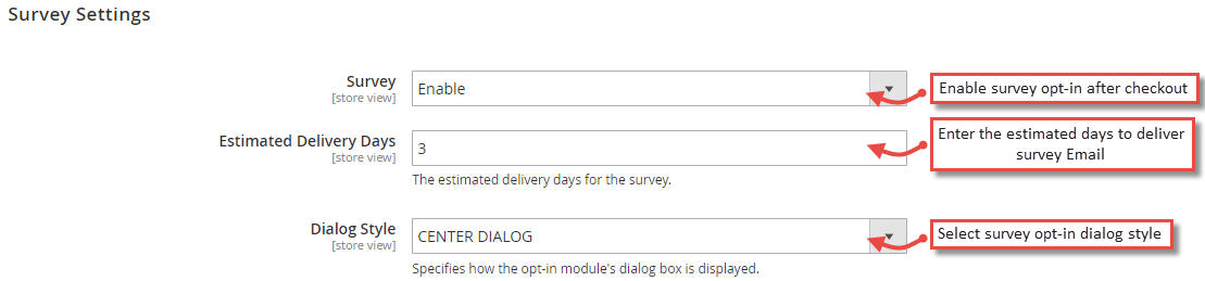 Magento 2 Google Customer Reviews