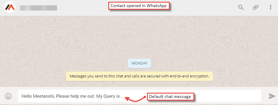 Magento WhatsApp Contact
