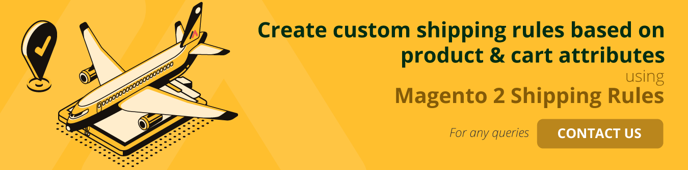 Magento 2 Shipping Rules Contact